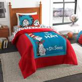 Dr. Seuss Dr. Seuss' Book Cover Comforter