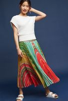 Anthropologie Agate Midi Skirt, Multicolored