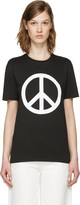 6397 Ssense Exclusive Black peace Ny T-shirt