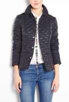 Burberry Ink Kencott Quilted Lightweight Jacket