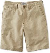 L.L. Bean Linen Cotton Shorts, Standard Fit