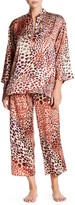 N Natori Wilderness Print 2-Piece Pajama Set