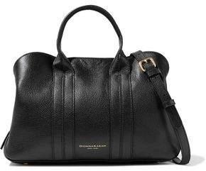 Donna Karan Perry Textured-leather Shoulder Bag