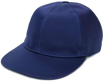 Lanvin rear logo baseball cap