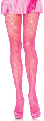 Leg Avenue Women's Nylon Fishnet Pantyhose Hosiery