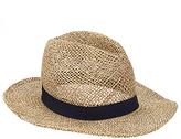 John Lewis Seagrass Fedora Hat, Beige