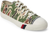 Pro-Keds Off White Royal Camo Low Top Sneakers