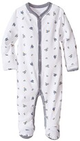 Polo Ralph Lauren Printed Interlock Bear Coveralls (Infant) (White Multi/French Navy) Boy's Overalls One Piece