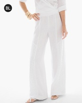 White Linen Pants Lined - ShopStyle