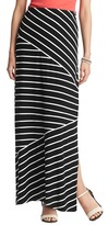 LOFT Pieced Stripe Maxi Skirt
