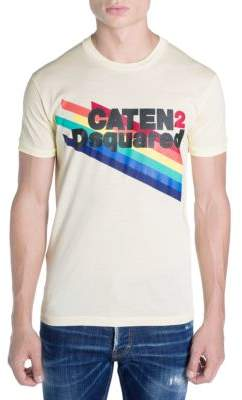 DSQUARED2 Main Caten Rainbow Tee
