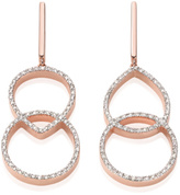 Monica Vinader Naida Kiss Open Cocktail Earrings