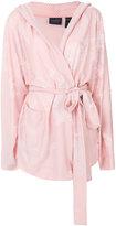 Fenty X Puma - tonal floral kimono jacket - women - Polyester/Spandex/Elastane - S
