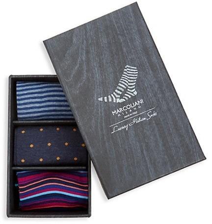 Marcoliani Milano 3-Pack Assorted Sock Set