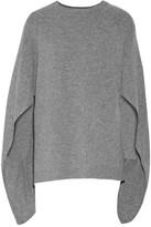 Sandro Cape-effect merino wool sweater