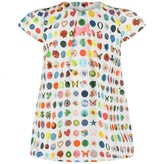 Christian Lacroix Christian LacroixWhite Couture Candy Print Dress
