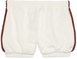 Gucci Baby jersey shorts with Interlocking G
