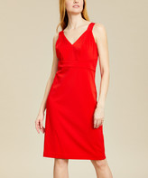 Ted Baker Women's Casual Dresses RED - Red Trixxie Paneled Bodycon Dress - Women