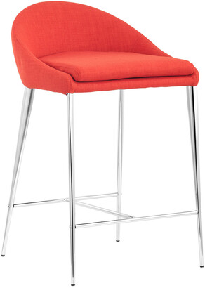 ZUO Set Of 2 Reykjavik Counter Chairs