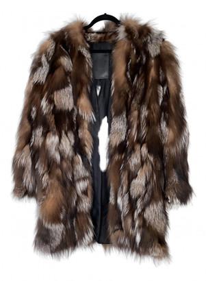 Mr & Mrs Italy Brown Fox Coats