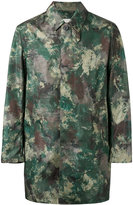 MACKINTOSH camouflage print coat - men - Nylon - 38