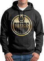 Sarah Men's Edmonton Oilers Gold Hoodie XL
