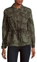 Calvin Klein Printed Cotton Utility Jacket