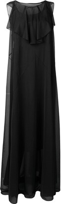 Maison Margiela ruffled sleeveless dress