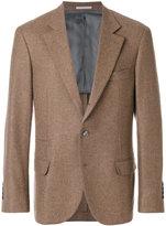 Brunello Cucinelli flap pocket blazer - men - Cupro/Cashmere - 48