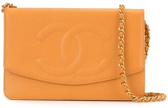 Chanel Pre Owned 1998 Classic Wallet On Chain