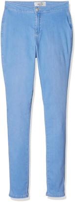 New Look Girl's Highwaisted Disco Skinny Jeans