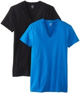 2xist Men's 2-Pack Stretch Core V-Neck Shirt