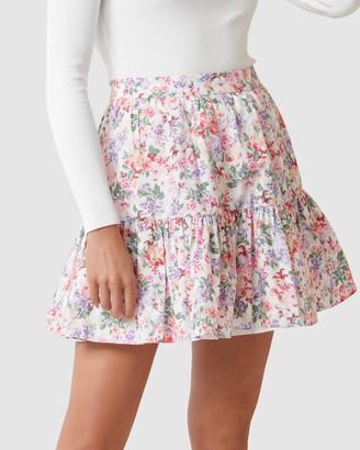 Forever New Claudia Ruffle Mini Skirt