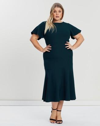 Atmos & Here Cherie Midi Dress