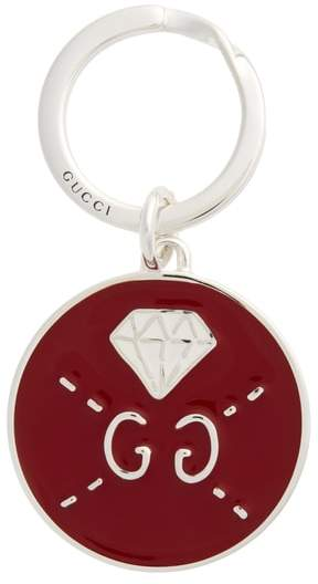 Gucci Ghost Diamond Key Ring