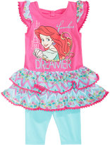 Disney Disney's® The Little Mermaid 2-Pc. Tunic & Leggings Set, Toddler & Little Girls (2T-6X)