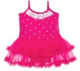 Infant Girl's Masalababy 'Audrey Ballerina' Skirted Bodysuit