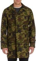 Camo nanamica Pattern Top Coat