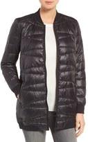 Bernardo Women's Water Resistant Quilted Bomber Jacket
