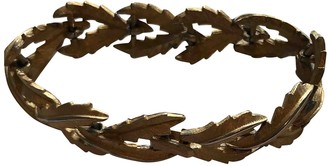 Trifari Gold Metal Bracelets