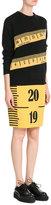Moschino Wool-Twill Printed Skirt