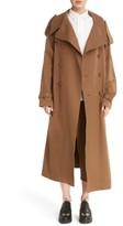 Women's Ys By Yohji Yamamoto U Double Breasted Trench Coat