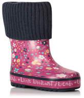 George Floral Print Wellington Boots