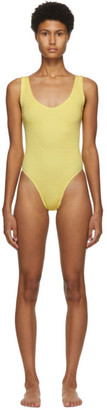 BOUND by Bond-Eye Yellow The Mara One-Piece Swimsuit