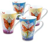 Konitz Walter Butterfly and Dragonfly Mugs (Set of 4)