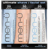 men-u men-ü Ultimate Shave Facial Set - 15ml (3 Products)