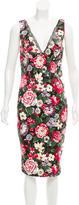 Dolce & Gabbana Floral Cocktail Dress w/ Tags