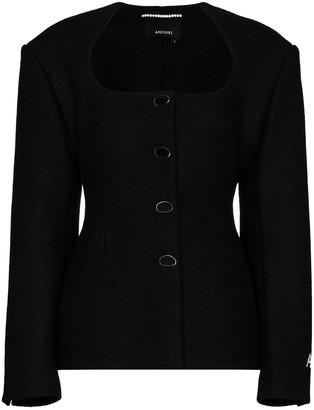 ANOUKI Fitted Wool Jacket