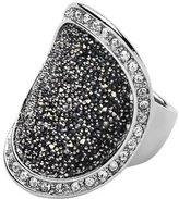 Dyrberg/Kern Carly SS Grey Fancy Ring for Womens 33452- Size N