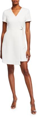 Ted Baker Marimel Short-Sleeve Jersey Wrap Dress